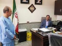 نجفی در دادسرای جنایی تهران +عکس