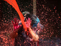فستیوال رنگها در هند +تصاویرر