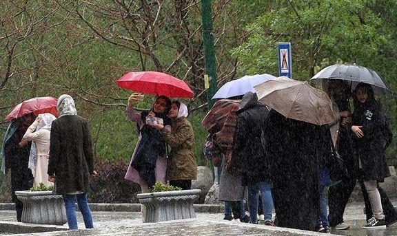 روند مثبت بارندگی در حوضههای آبریز دریای خزر