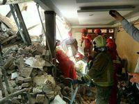 مرگ یک نفر بر اثر ریزش ساختمان در تهران