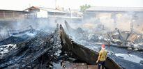 آتشسوزی کارخانه لنجسازی +عکس