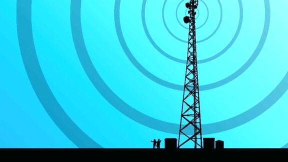 امواج آنتنهای تلفن همراه مضر نیست!