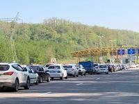 محدودیتهای جدید ترافیکی جاده رشت – قزوین