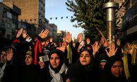 تجدید بیعت دستههای عزاداری دانشجویی با رهبر انقلاب +عکس
