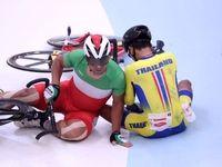 گاف بزرگ دوچرخه سواری ایران در مسابقات قهرمانی