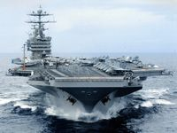احتمال استقرار ناو هواپیمابر «ترومن» در خلیج فارس