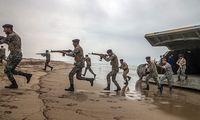 عملیات تاخت آبخاکی تکاوران نیروی دریایی ارتش در مکران +عکس