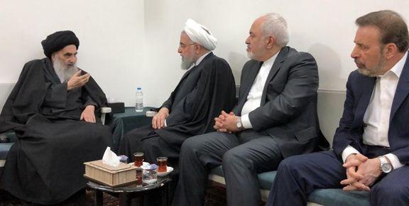 گزارش توئیتری ظریف از دومین و سومین روز سفر روحانی به عراق