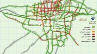 نقشه ترافیکی شهر تهران +نقشه