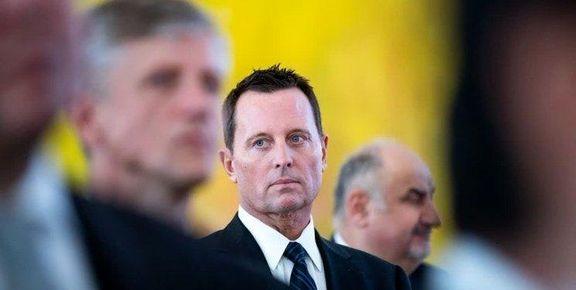 ترامپ از انتصاب «ریچارد گرنل» به سرپرستی اطلاعات ملی آمریکا خبر داد