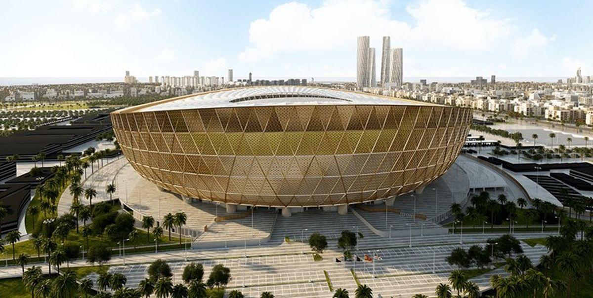 ورزشگاه میزبان فینال جام جهانی۲۰۲۲ تکمیل شد + عکس