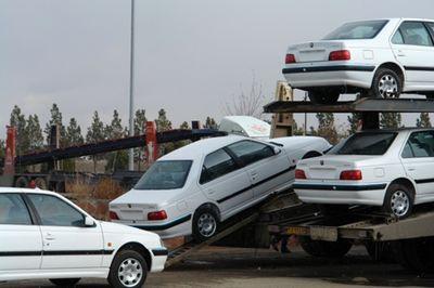صادرات ۲۵ میلیون دلاری خودرو در سال ۹۵