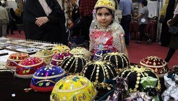 نمایشگاه بینالمللی صنایع دستی در همدان +تصاویر
