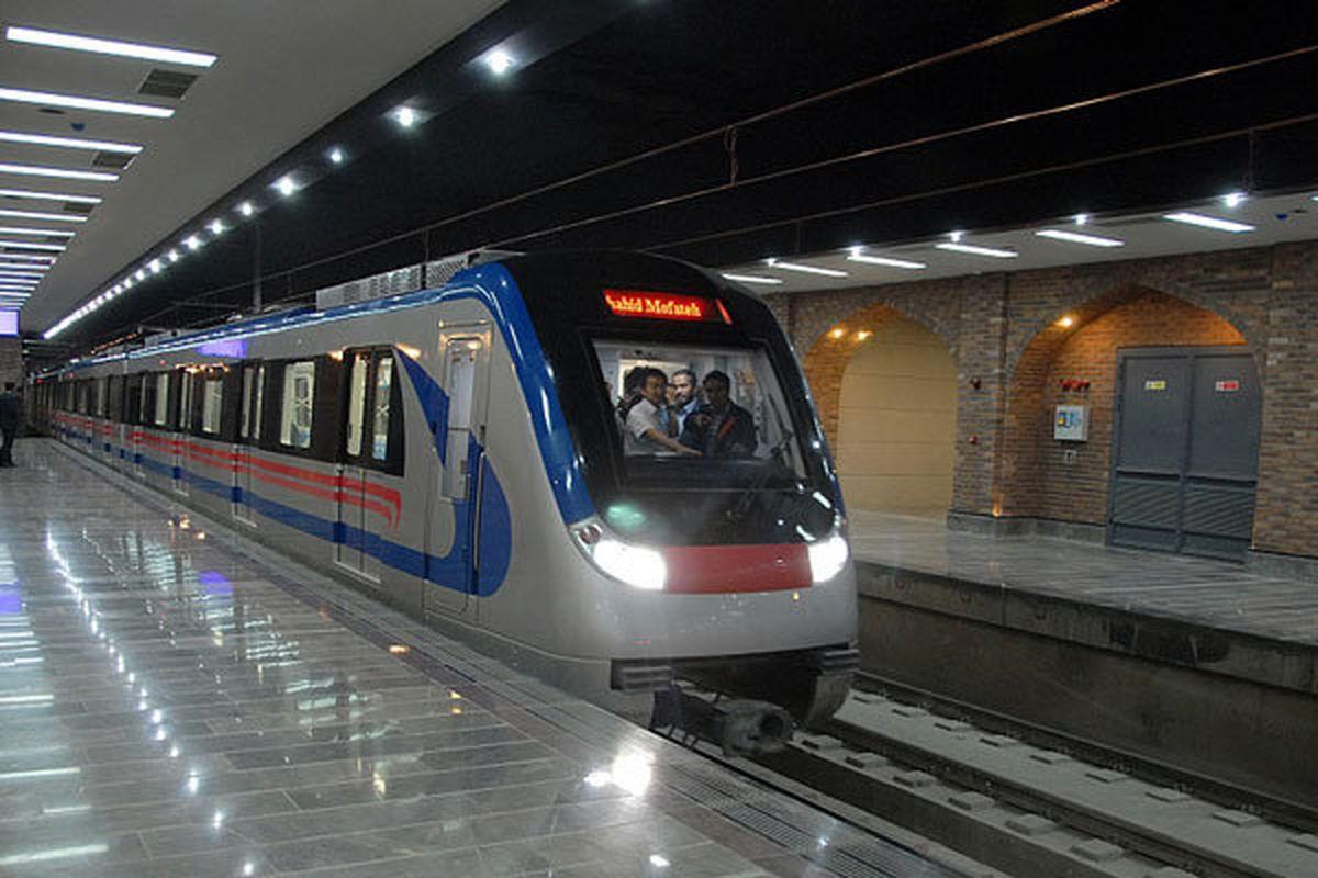 تابآوری مترو تهران درمقابل زلزله ۸ریشتری
