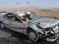 واژگونی خودرو یک کشته و ۲زخمی بر جای گذاشت