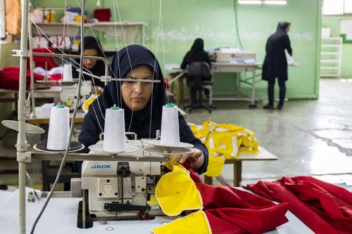 بازار کار زنان ایران مشابه کشورهای جنگ زده