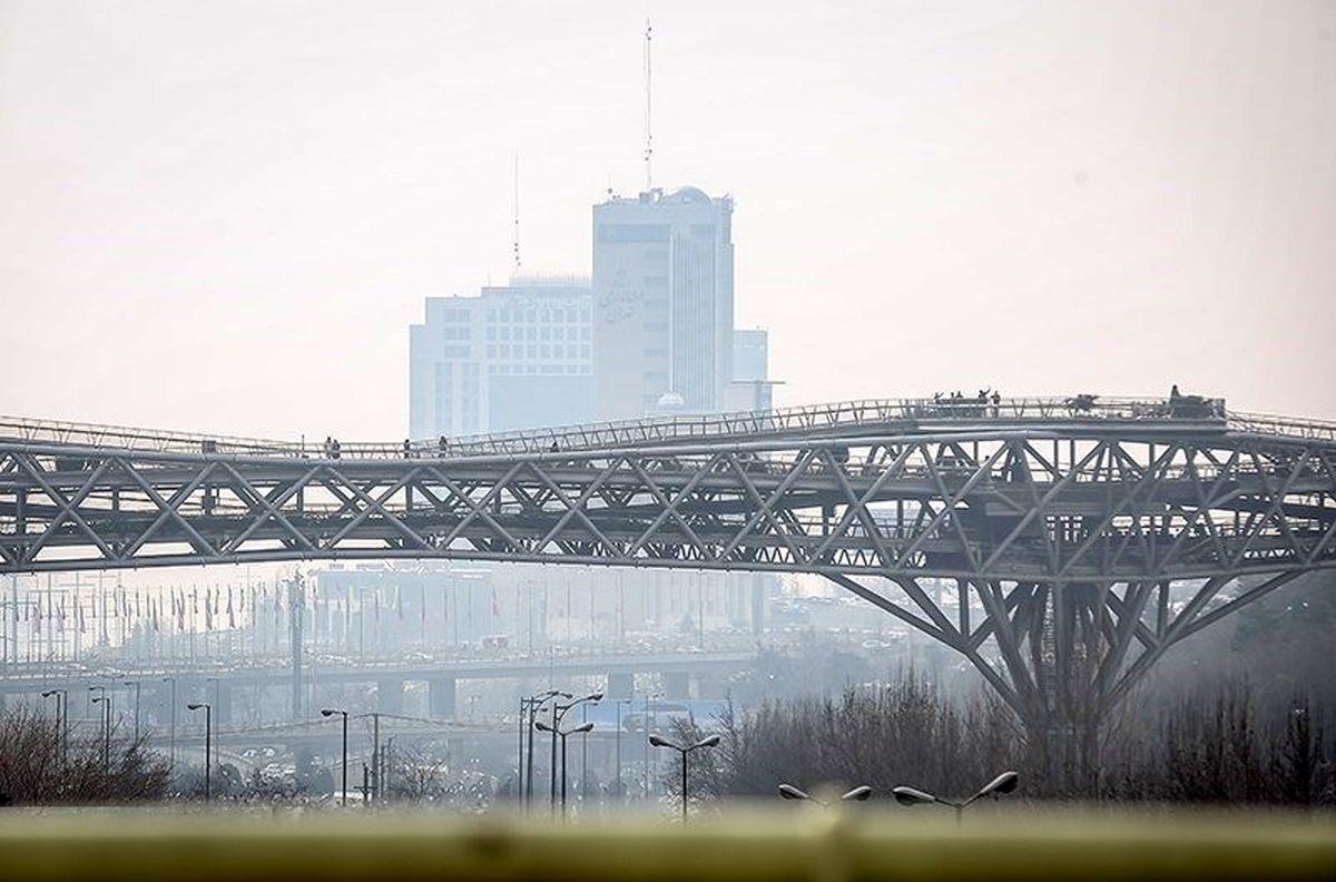 تداوم آلودگی هوا تا چهارشنبه