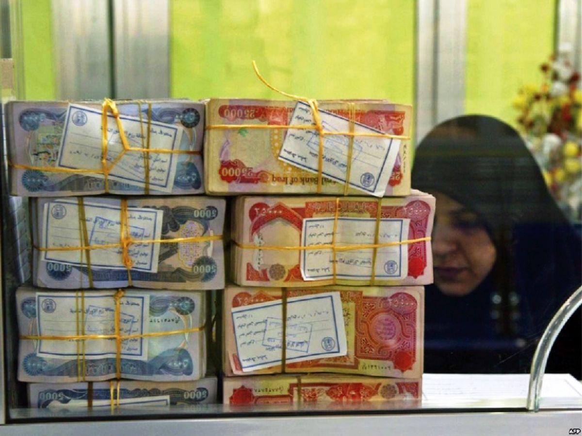 سقوط ارزش دینار عراق