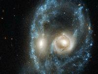 شکار جالب تلسکوپ هابل +عکس