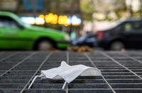کرونا رها شده در شهر +عکس