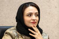 گلاره عباسی با سیمرغ +عکس