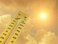 افزایش دمای هوای کشور