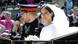 انتشار عکسهای رسمی عروسی مگان و هری +فیلم