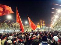 راهپیمایی زائران اربعین حسینی از سه مرز به سوی کربلا