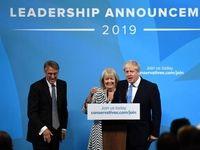 لحظه انتخاب بوریس جانسون به عنوان نخست وزیر انگلیس +تصاویر