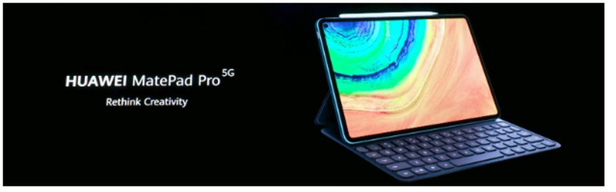 تبلت پرچمدار هوآوی MatePad Pro ۲ ۵G با شارژ سریع ۴۰وات معرفی خواهد شد