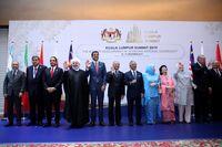 روحانی ، حریری، اردوغان ، امیر قطر و ماهاتیر محمد در یک قاب