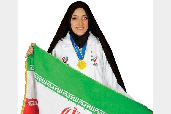 بانوی ایرانی مدال طلای پرتاب وزنه پارآسیایی را کسب کرد