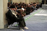 مراسم سوگواری شب شهادت امام علی(ع) در حضور رهبر انقلاب