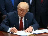 ترامپ قانونی جدید برای تحریم حماس و لبنان امضا کرد