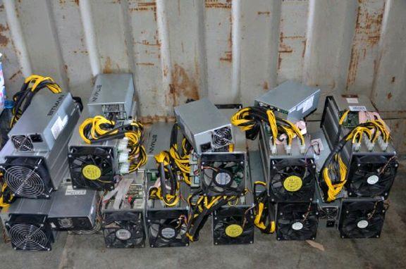 کشف ۱۶ دستگاه ماینر در جزیره خارگ