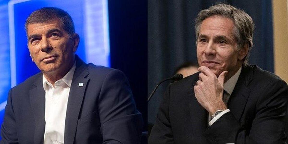 گفتوگوی وزرای خارجه آمریکا و اسرائیل درباره ایران