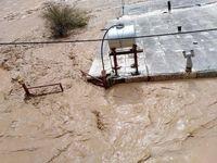 آب به پشت بام خانهها در معمولان رسید +عکس