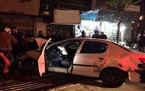 برخورد زنجیره ای ۴ خودرو در محله تهرانسر/ یک خانم جوان مصدوم شد +تصاویر
