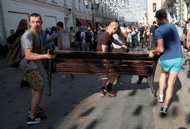 تظاهرات در مسـکو