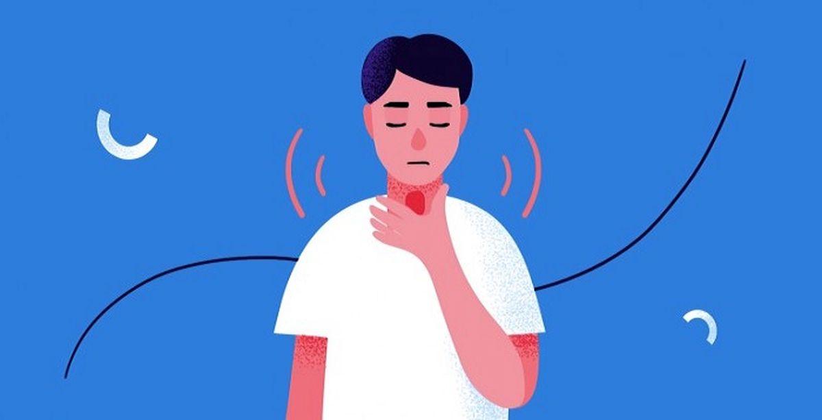 آیا اضطراب میتواند موجب گلودرد شود؟