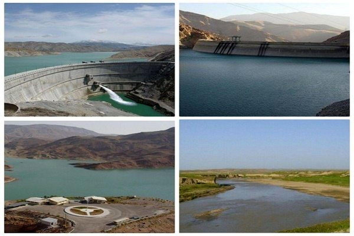 ورودی آب سدهای تهران یک پنجم سال گذشته است