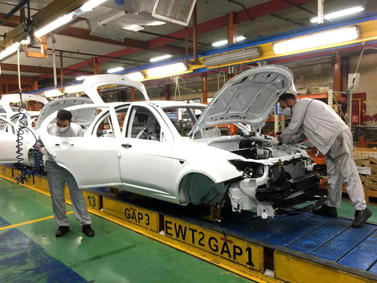 آخرین وضعیت تولید خودرو اعلام شد
