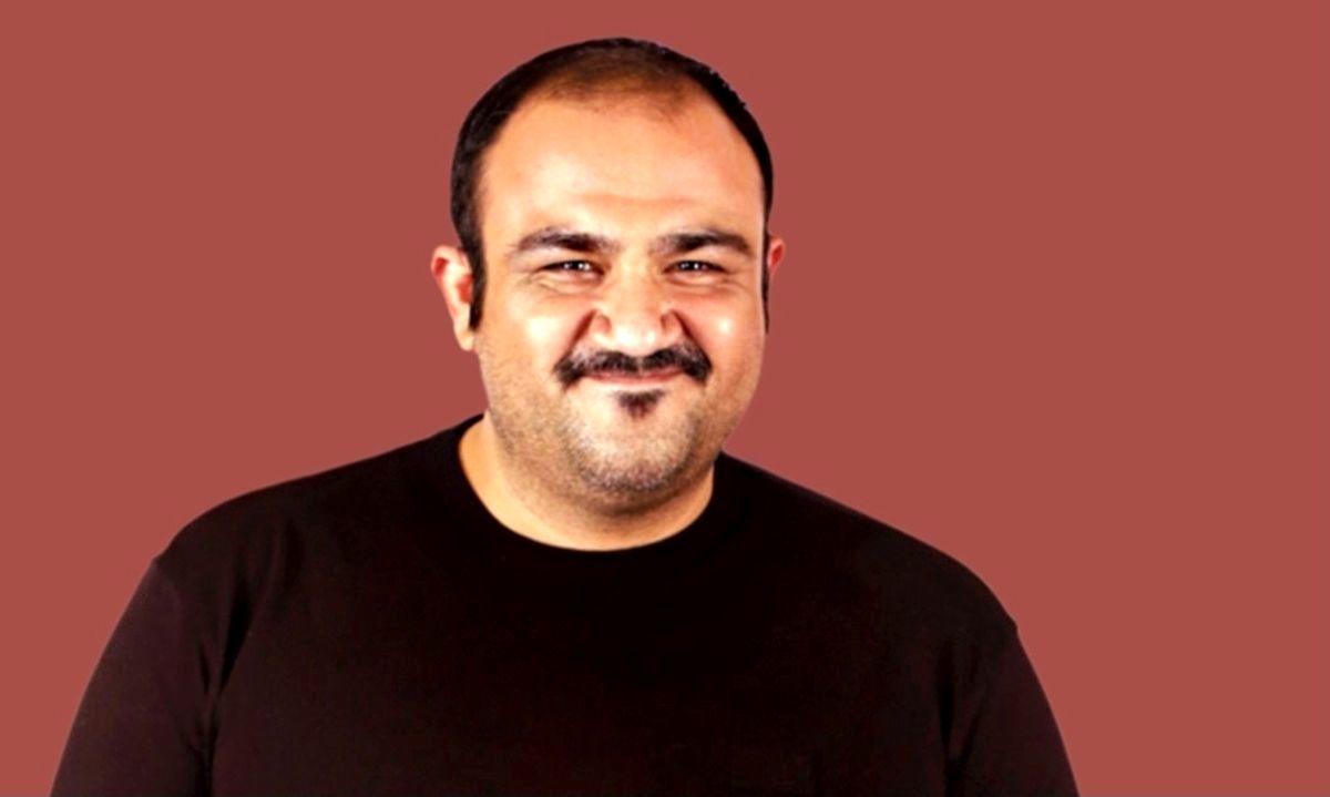 مهران غفوریان در روز بازیگر + عکس