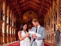 اولین تصاویر منتشر شده از فرزند پرنس هری و مگان
