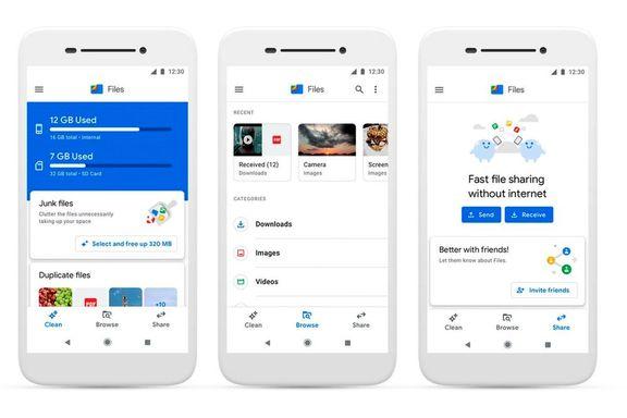 استفاده ماهانه 30 میلیون کاربر از گوگل فایلز گو