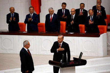 دوره جدید ریاست جمهوری اردوغان آغاز شد