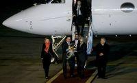 نخست وزیر سوئد و همسرش در فرودگاه مهرآباد +عکس