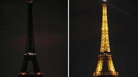 خاموشی نمادهای مهم دنیا در مراسم ساعت زمین +فیلم
