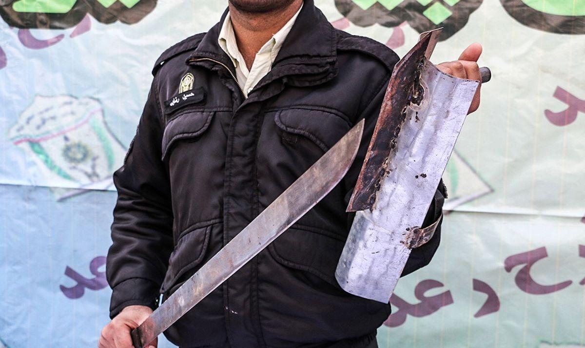 اسلحه عجیب سارقان و زورگیران تهرانی +عکس