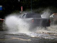 خسارات توفان فلورانس در آمریکا +عکس